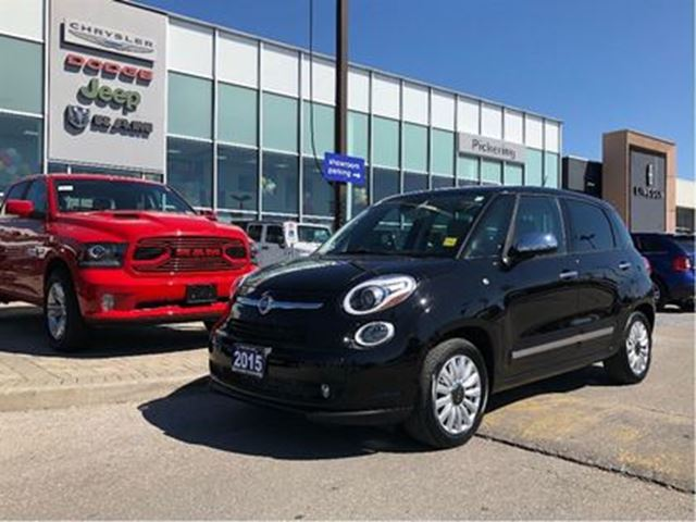 2015 FIAT 500L Lounge PANO ROOF HEATED SEATS CAMERA in Pickering, Ontario