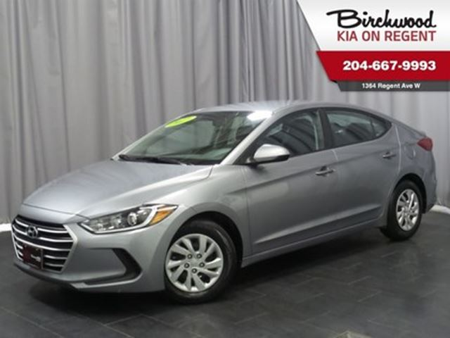 2017 HYUNDAI ELANTRA GL *Just Arrived and Ready for you!! in Winnipeg, Manitoba