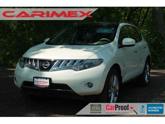 2010 NISSAN MURANO LE in Kitchener, Ontario