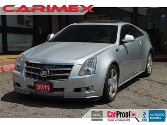 2011 CADILLAC CTS Performance Collection NAVI   Sunroof   Leather in Kitchener, Ontario