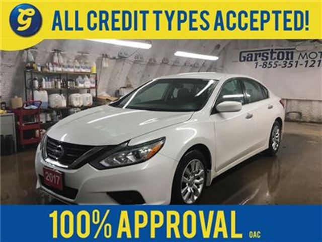 2017 NISSAN Altima S*KEYLESS ENTRY w/REMOTE START*BACK UP CAMERA*PHON in Cambridge, Ontario