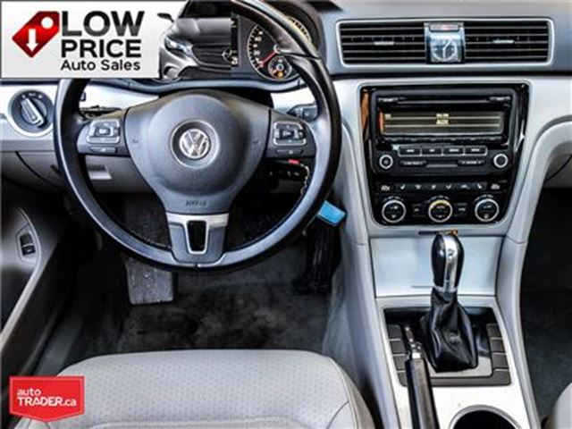 2013 VOLKSWAGEN PASSAT Leather*Sunroof*Alloys&Warranty* in Toronto, Ontario