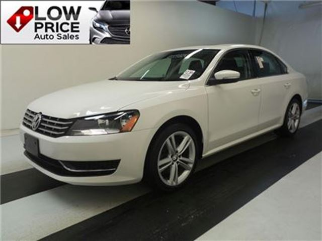 2014 VOLKSWAGEN PASSAT Leather*Sunroof*Alloys*FullOptI* in Toronto, Ontario