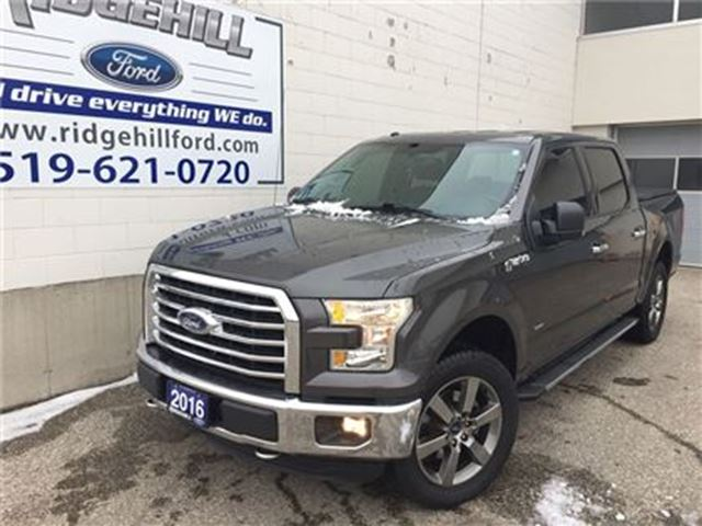 2016 FORD F-150 XLT  20 SPORT WHEELS  TOUCH SCREEN  2.7L ECO BOOST in Cambridge, Ontario