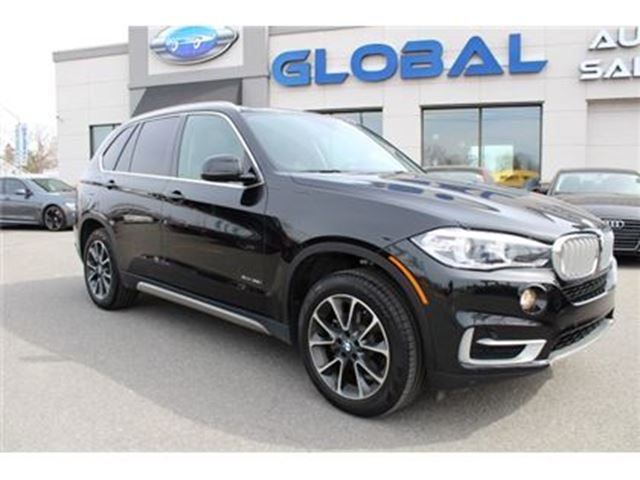 2015 BMW X5 xDrive35i NAVIGATION PANOR. ROOF ONLY 16 K in Ottawa, Ontario