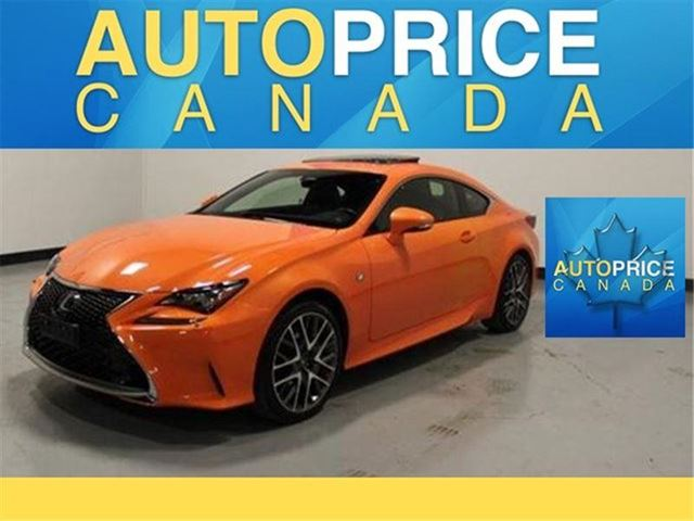 2015 LEXUS RC 350 F-SPORT NAVIGATION LEATHER in Mississauga, Ontario