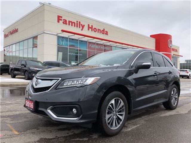 2016 ACURA RDX Base w/Elite Package in Brampton, Ontario