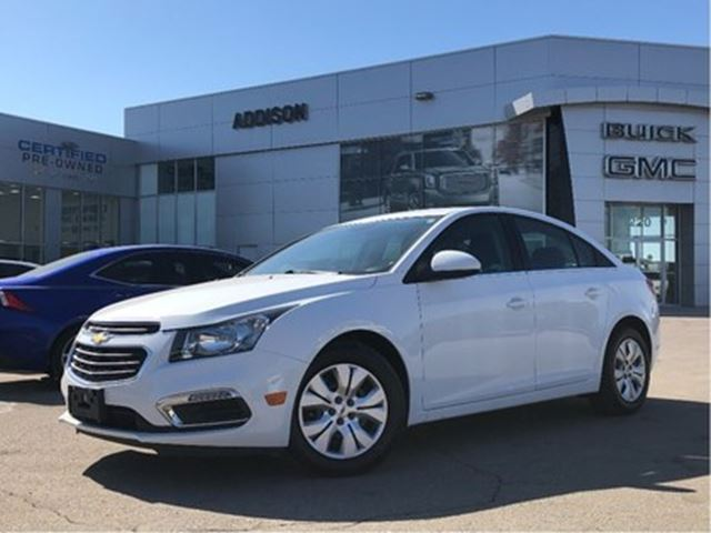2016 CHEVROLET Cruze One owner, accident free in Mississauga, Ontario