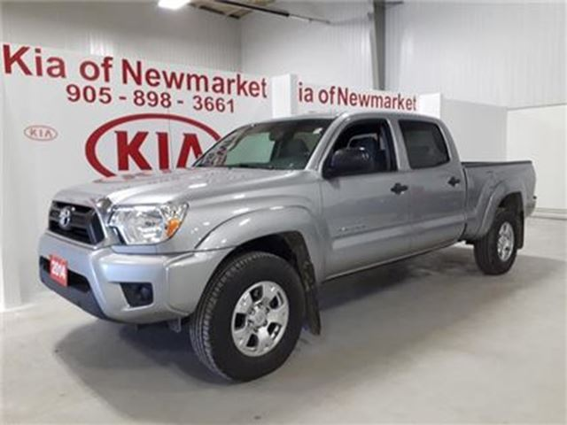 2014 Toyota Tacoma 4x4 Dbl Cab V6 5A in Newmarket, Ontario