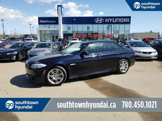 2013 BMW 5 SERIES i xDrive in Edmonton, Alberta
