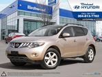 2010 Nissan Murano SL AWD *Leather Navi Sunroof Rear Cam in Winnipeg, Manitoba