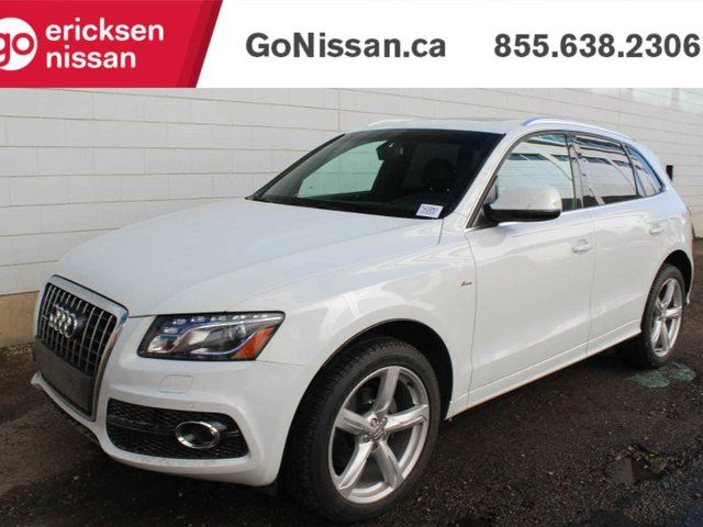 2012 AUDI Q5 S-LINE: LEATHER, NAVIGATION, SUNROOF in Edmonton, Alberta