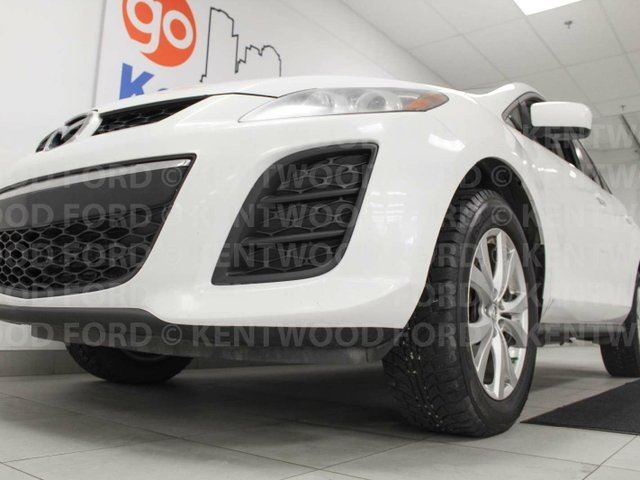 2011 MAZDA CX-7 CX7 AWD with a sunroof, power leather seats, rear DVD entertainment on both sides and it's a stylish ride! in Edmonton, Alberta