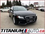 2012 Audi A4 Quattro+6 Speed Manual+Sunroof+BlueTooth+Leather++ in London, Ontario