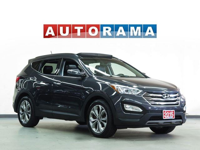 2015 HYUNDAI Santa Fe SPORT PKG LEATHER PAN SUNROOF 4WD in North York, Ontario