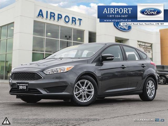2015 FORD Focus SE  Hatchback with only 12,794 kms in Hamilton, Ontario