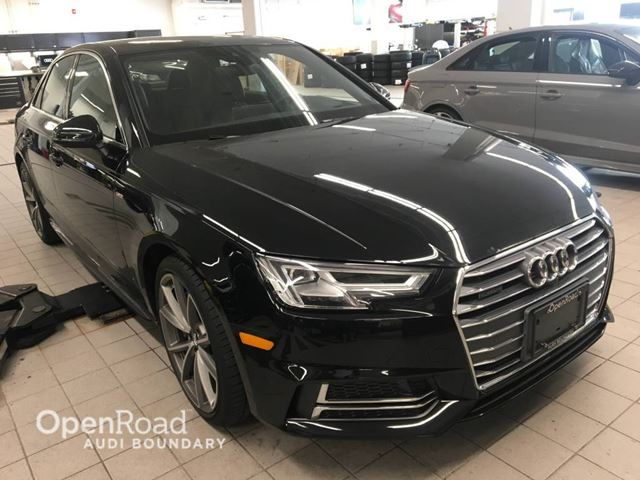 2017 AUDI A4 4dr Sdn Auto Technik quattro S Line FINANCE FOR in Vancouver, British Columbia
