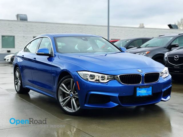 2015 BMW 4 SERIES 435i xDrive A/T Gran Coupe No Accident Local Bl in Port Moody, British Columbia