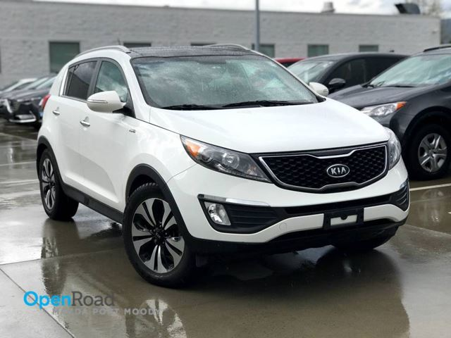 2012 KIA SPORTAGE SX AWD A/T Local Bluetooth USB AUX Rearview Cam in Port Moody, British Columbia