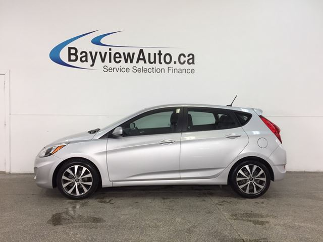 2017 Hyundai Accent SE - ALLOYS! SUNROOF! HTD STS! BLUETOOTH! CRUISE! in Belleville, Ontario