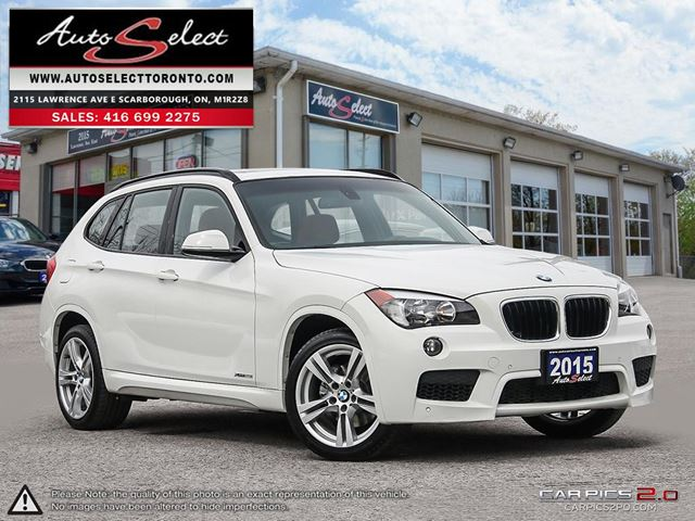 2015 BMW X1 xDrive28i AWD ONLY 89K! **M SPORT PKG** TECHNOLOGY PKG in Scarborough, Ontario