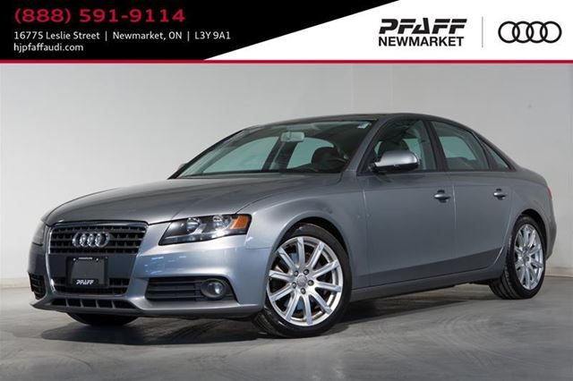 2010 Audi A4 2.0T in Newmarket, Ontario