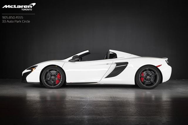 2015 MCLAREN 650S Spider in Woodbridge, Ontario