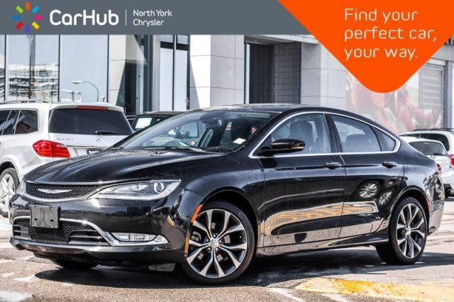 2015 CHRYSLER 200 C AWD Sun/Sound Pkg Pano_Sunroof Keyless_Go 19Alloys in Thornhill, Ontario