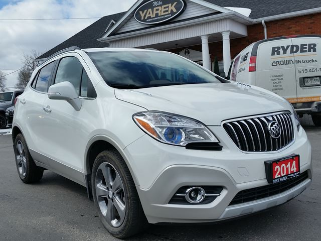 2014 BUICK ENCORE Leather Heated Seats, Remote Start, Back Up Cam, Bluetooth in Paris, Ontario