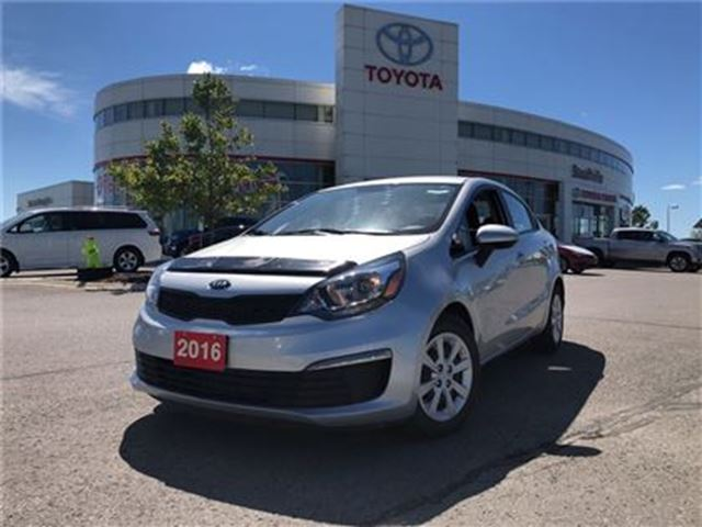 2016 KIA RIO LX - One Owner / No Accidents / Certified in Stouffville, Ontario