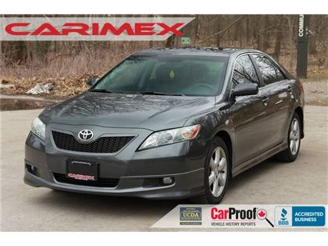 2007 TOYOTA CAMRY SE LLOW KMs   Sunroof   CERTIFIED in Kitchener, Ontario