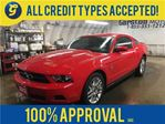 2012 Ford Mustang COUPE*PREMIUM*LEATHER*SHAKER SOUND SYSTEM*MICROSOF in Cambridge, Ontario