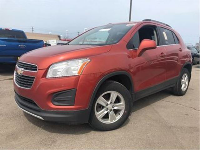 2014 CHEVROLET TRAX 1LT AWD CRUISE CONTROL BLUETOOTH in St Catharines, Ontario