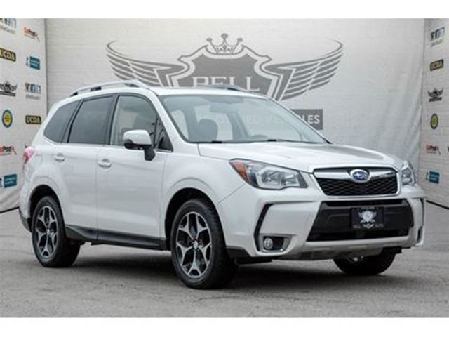2015 SUBARU FORESTER 2.0XT TOURING~LEATHER ~ROOF ~NAVI~ BACKUP CAM in Toronto, Ontario