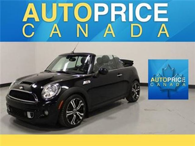 2011 MINI COOPER S LEATHER CONVERTIBLE in Mississauga, Ontario