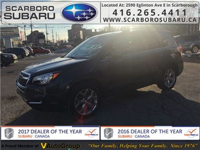 2018 Subaru Forester 2.5i LTD, FROM 1.9% FINANCING AVAILABLE in Scarborough, Ontario