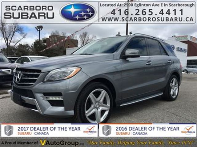 2013 Mercedes-Benz M-Class ML 350 BlueTEC 4MATIC, NAVIGATION SYSTEM !!! in Scarborough, Ontario