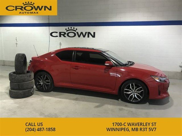 2016 SCION TC **Sunroof** Winter Tires Included** Sporty** in Winnipeg, Manitoba