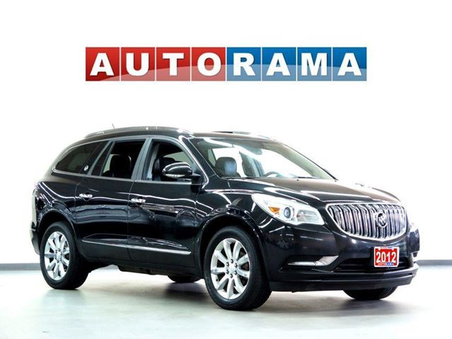 2012 BUICK Enclave LEATHER PANORAMIC SUNROOF 7 PASSENGER 4WD in North York, Ontario