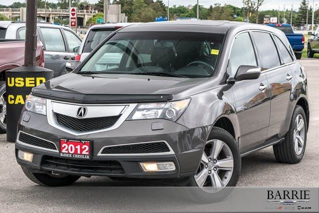 2012 ACURA MDX ***TECH PACKAGE***NAVI***POWER ROOF*** in Barrie, Ontario