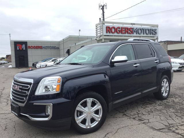 2016 GMC TERRAIN SLT AWD - NAVI - LEATHER - SUNROOF in Oakville, Ontario