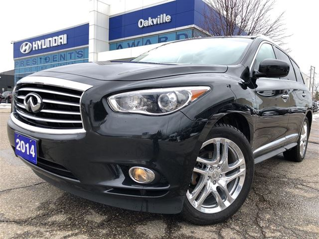 2014 INFINITI QX60 AWD  3.5L  LEATHER  CAM  7 PASSENGER in Oakville, Ontario
