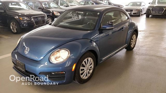 2017 VOLKSWAGEN NEW BEETLE  2dr Cpe Auto Trendline NO ACCIDENTS in Vancouver, British Columbia
