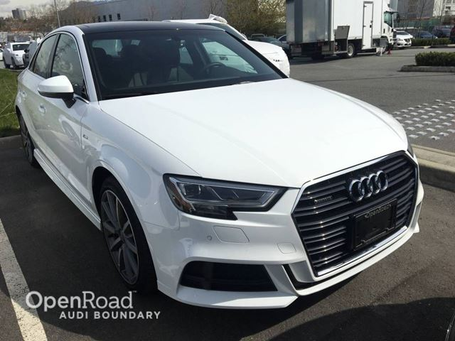 2017 AUDI A3 4dr Sdn quattro 2.0T Technik S Line  FINANCE FO in Vancouver, British Columbia