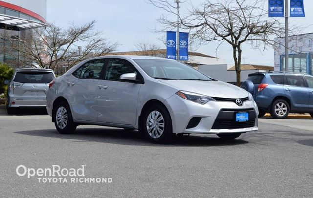 2014 TOYOTA COROLLA CE in Richmond, British Columbia