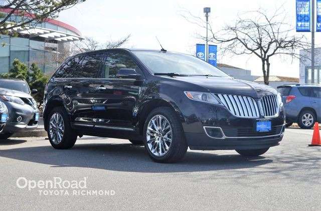 2012 LINCOLN MKX Navigation, Push button start, Heated steering  in Richmond, British Columbia