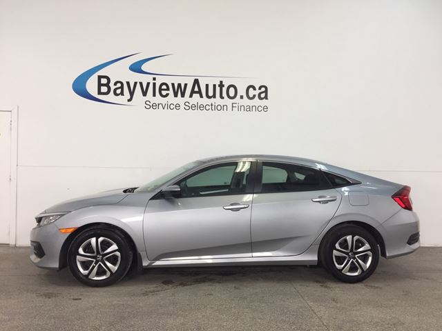 2018 HONDA CIVIC LX - AUTO! ECO MODE! HEATED SEATS! REVERSE CAM! HONDA LINK! in Belleville, Ontario