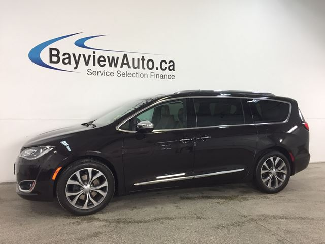 2017 CHRYSLER PACIFICA Limited - REM START! PANOROOF! HTD/AC LTHR! NAV! BSA! SURROUND VIEW! in Belleville, Ontario