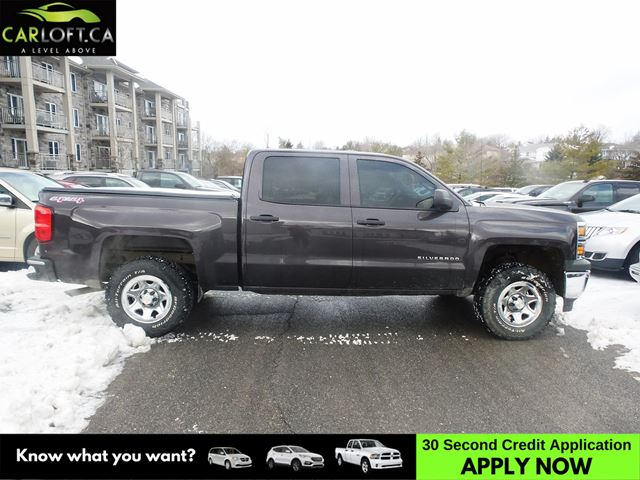 2015 CHEVROLET SILVERADO 1500 1500 QUAD 4X4 - BACKUP CAM * CRUISE * A/C in Kingston, Ontario