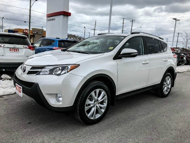 2015 Toyota RAV4 Limited LIMITED TECH+XTRA WARRANTY-100,000 KMS! in Cobourg, Ontario